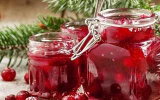Варенье из клюквы на зиму: простой рецепт, без варки, «Пятиминутка»