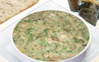 Белые грибы со сливками: соус, подливка, рецепты приготовления с фото, калорийность