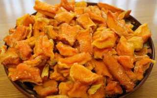 Сушеная тыква: польза и вред, калорийность, как высушить в сушилке, в духовке