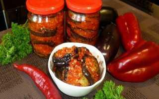 Тещин язык из баклажанов: рецепт с фото