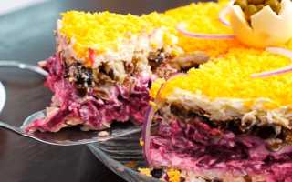 Салат Граф: рецепт с фото пошагово, классический, с курицей, со свеклой