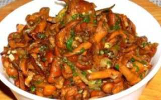 Лисички по-корейски: рецепт приготовления грибов на зиму