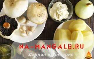 Картошка с шампиньонами и сметаной: на сковороде, в духовке, мультиварке, в сметанном соусе