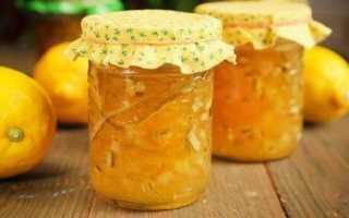 Варенье из лимона на зиму: польза, рецепт с фото через мясорубку, с кожурой и без
