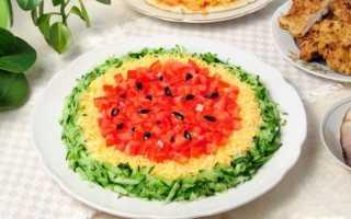 Новогодний салат Елочка: 10 лучших рецептов с фото, с курицей