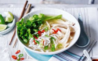 Вьетнамский суп Фо Бо: рецепт с говядиной, классический, с курицей
