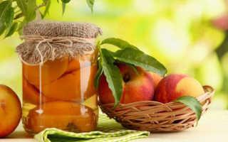 Персики в собственном соку на зиму: рецепты без стерилизации, дольками, без сахара, мелкие