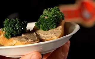 Паштет из гусиной печени в домашних условиях: пошаговые рецепты приготовления с фото