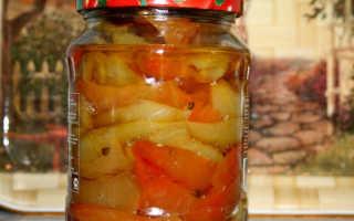 Болгарский перец по-одесски на зиму: квашеный, маринованный, жареный, с чесноком