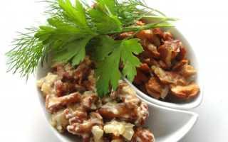 Лисички жареные со сметаной и луком: на сковороде, в мультиварке, духовке