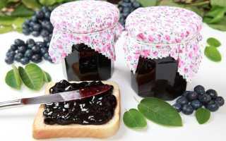Пастила и конфитюр из черники: рецепт в духовке