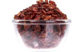 Барбарис сушеный: как засушить, применение, полезные свойства