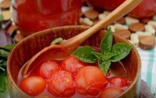 Помидоры в томатном соусе на зиму: 11 простых рецептов