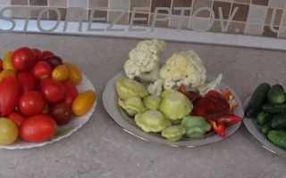Маринованные патиссоны с огурцами и помидорами на зиму: пошаговые рецепты ассорти с фото