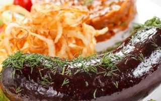 Кровяная колбаса с гречкой в домашних условиях: пошаговые рецепты приготовления с фото