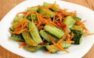 Огурцы по-корейски на зиму: самые вкусные рецепты без моркови, с корейской приправой, маринованные, острые, хе, видео
