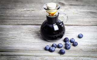 Черника в сиропе: рецепты на зиму