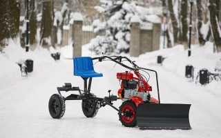 Снегоуборщик для мотоблока Угра
