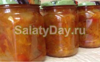 Салаты из перца, огурцов и кабачков на зиму: рецепты без стерилизации, со сладким, болгарским, острым