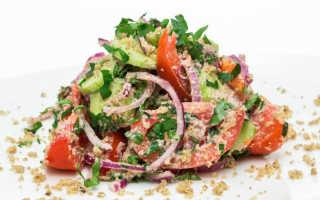Салат на зиму из огурцов по-грузински: пошаговые рецепты с фото