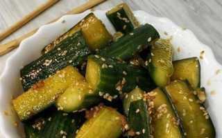 Огурцы с кунжутом по-корейски на зиму и на каждый день: самые вкусные рецепты с соевым соусом и без