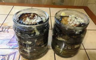 Баклажаны с чесноком и петрушкой на зиму: жареные, соленые, маринованные