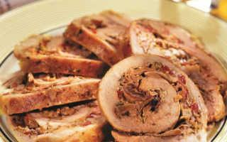 Рулет с белыми грибами: секреты приготовления, рецепты с фото, калорийность блюда