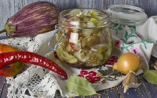 Баклажаны на зиму с базиликом и чесноком: с помидорами и без, как грибы, маринованные, жареные