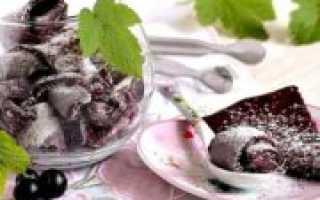 Пастила из черной смородины: рецепты в домашних условиях