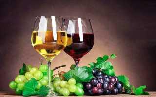 Рецепт домашнего вина из красного винограда