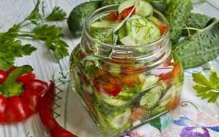 Салат из огурцов с молотым перцем на зиму: с черным, красным, вкусные рецепты с фото, без стерилизации