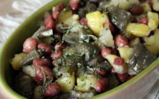 Салат с маслятами: вкусные рецепты с фото на зиму, на каждый день из маринованных, жареных, свежих грибов