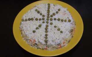 Салат Снежинка: с курицей: пошаговые рецепты с черносливом, гранатом, сыром