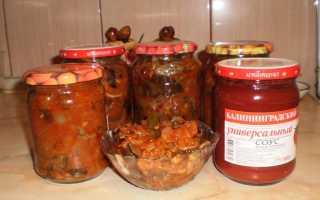 Опята с томатной пастой: рецепты приготовления на зиму