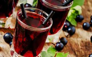 Компот из смородины и мяты: красной, черной, простые рецепты с фото