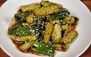 Жареные огурцы на зиму: рецепты приготовления салатов с фото