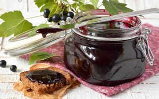 Конфитюр из черной и красной смородины: рецепты на зиму
