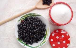 Киевское сухое варенье из черной смородины: как сделать, рецепт