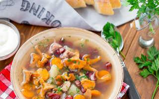 Суп с лисичками с сыром: рецепты с фото из свежих и замороженных грибов