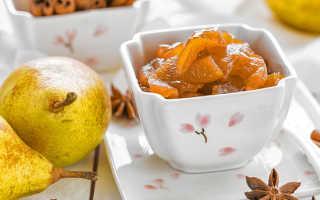Варенье из груш с апельсином: янтарное, с яблоками, с корицей