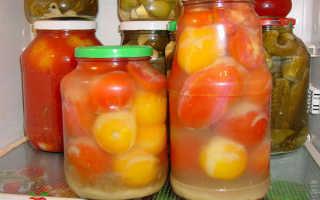 Помидоры в яблочном соке: 7 рецептов на зиму
