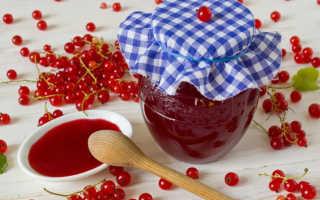 Желе из сока красной смородины: как варить, рецепты на зиму