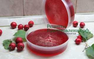 Желе из боярышника без косточек: рецепты на зиму