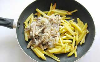 Жареные вешенки с картошкой: как вкусно приготовить, рецепты с фото