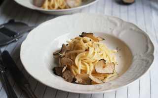 Трюфельная паста: как правильно приготовить, лучшие рецепты, советы и фото