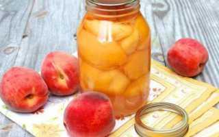 Компот из яблок и персиков: рецепты на зиму