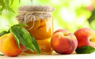 Компот из персиков: простые рецепты на 1 и 3 литровую банку, без косточек, без стерилизации, с абрикосами