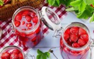 Клубничное варенье без варки ягод: рецепты с фото