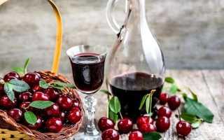 Как из черешни сделать вино