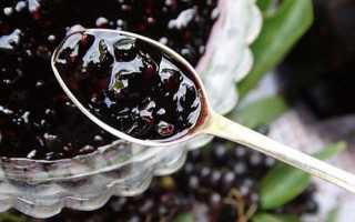 Варенье из бузины черной и красной: польза и вред, рецепты приготовления